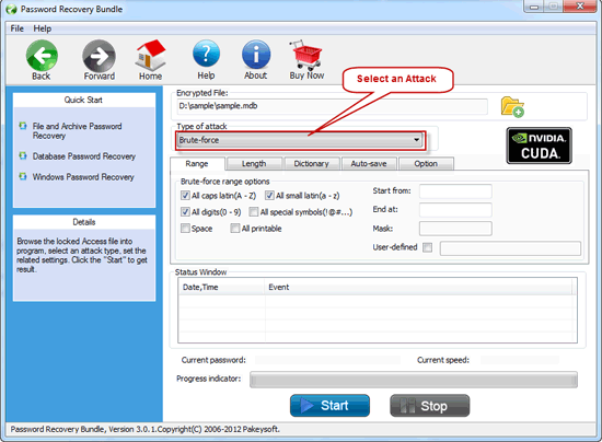 Password Recovery Bundle User Guide - Recover Database Password