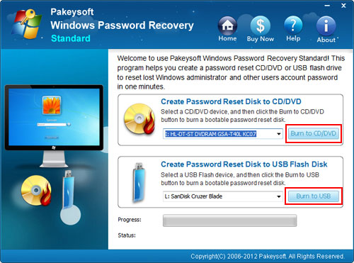 recover Acer laptop password