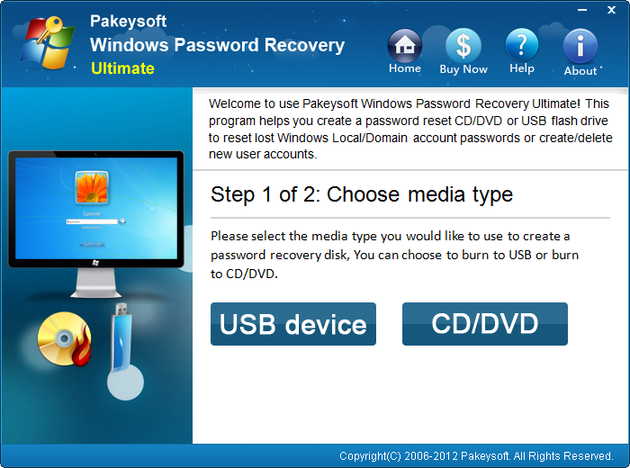Windows Server 2008 Password Recovery