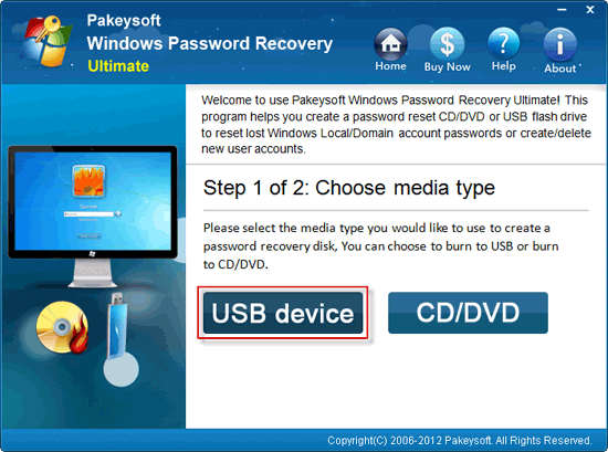 how to reset password in windows 7