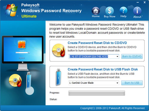 Windows Server 2000 Password Reset