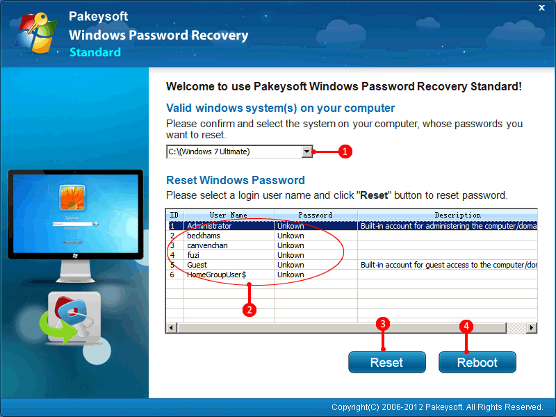 Forgot Windows 7 Password - The effective way