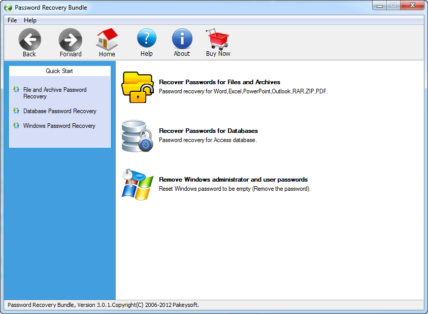 Password Recovery Tool Free Download